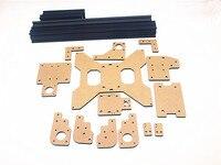 Acrylic parts & extrusion frame kit for Sunning 3D printer part Laser cut partsTevo Tarantula