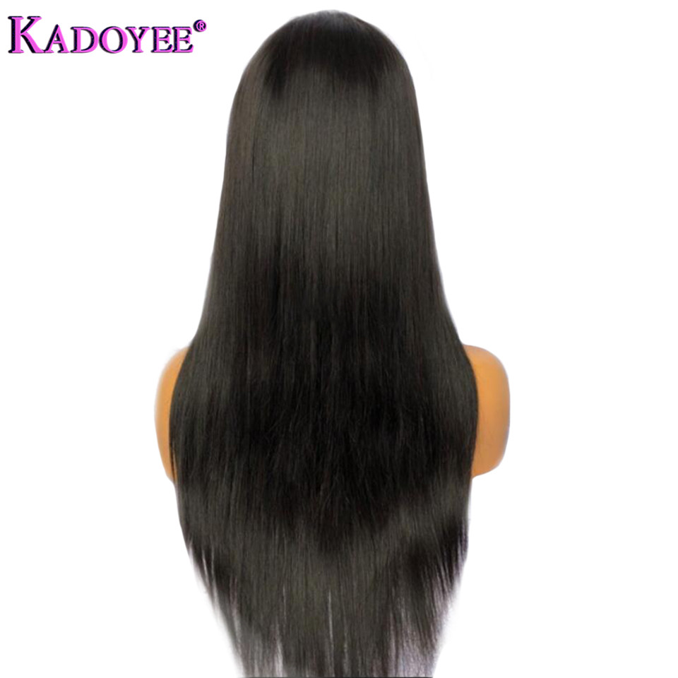straight human hair lace front wigs for black women (3)