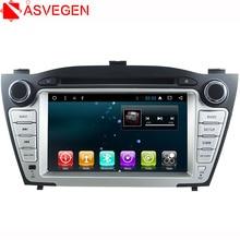 цена на Asvegen Android 6.0 7'' 2 Din  Quad Core Car DVD Player Auto Radio GPS Navigation Multimedia For Hyundai TUCSON IX35 2009-2013