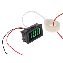 DC 5-120V 100A Digital Voltmeter Current Voltage Amp Meter w Hall Effect Sensor