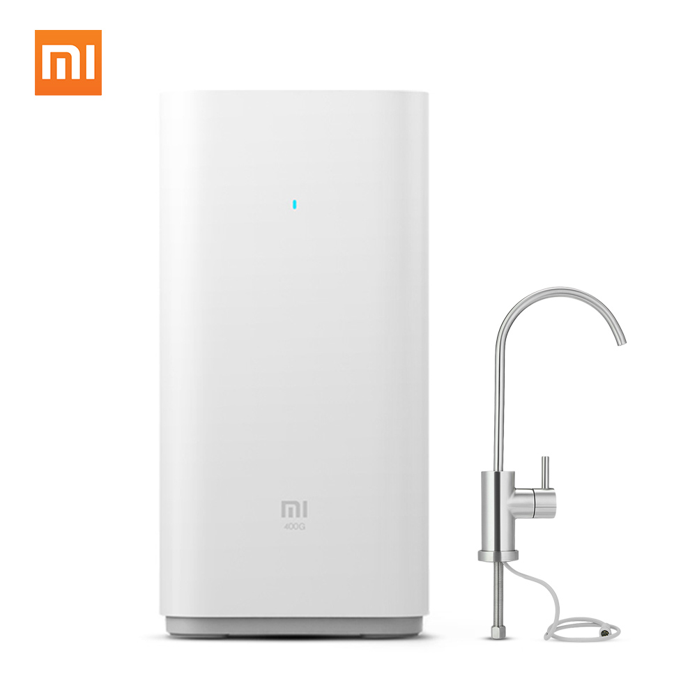 Original Xiaomi Water Purifier Watering Filters Support RO Purification Technology Automatic Flushing Water Purifier App Monitor