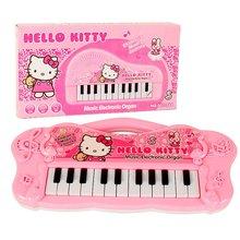Hallo Kitty Musik Elektronische Orgel Klaviertastatur Pädagogisches Instrumente Spielzeug für Mädchen Jungen Baby Spielzeug Pflegen Talent Musik
