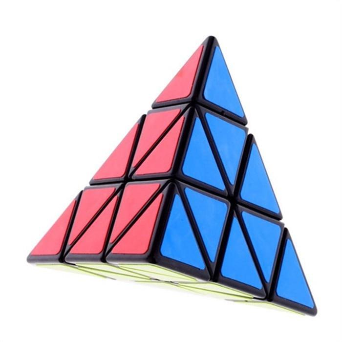 6pcs / Set Shengshou Noir Étrange-forme Puzzle Cube Ensemble Vitesse - Jeux et casse-tête - Photo 6