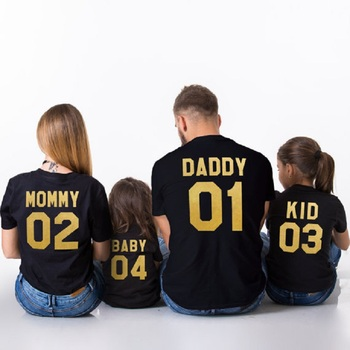 Mom and Son Girls Matching Clothes Outfits Mum Mama Mother and Daughter Clothes Daddy Mommy and Me Father Son T-shirt for Boys