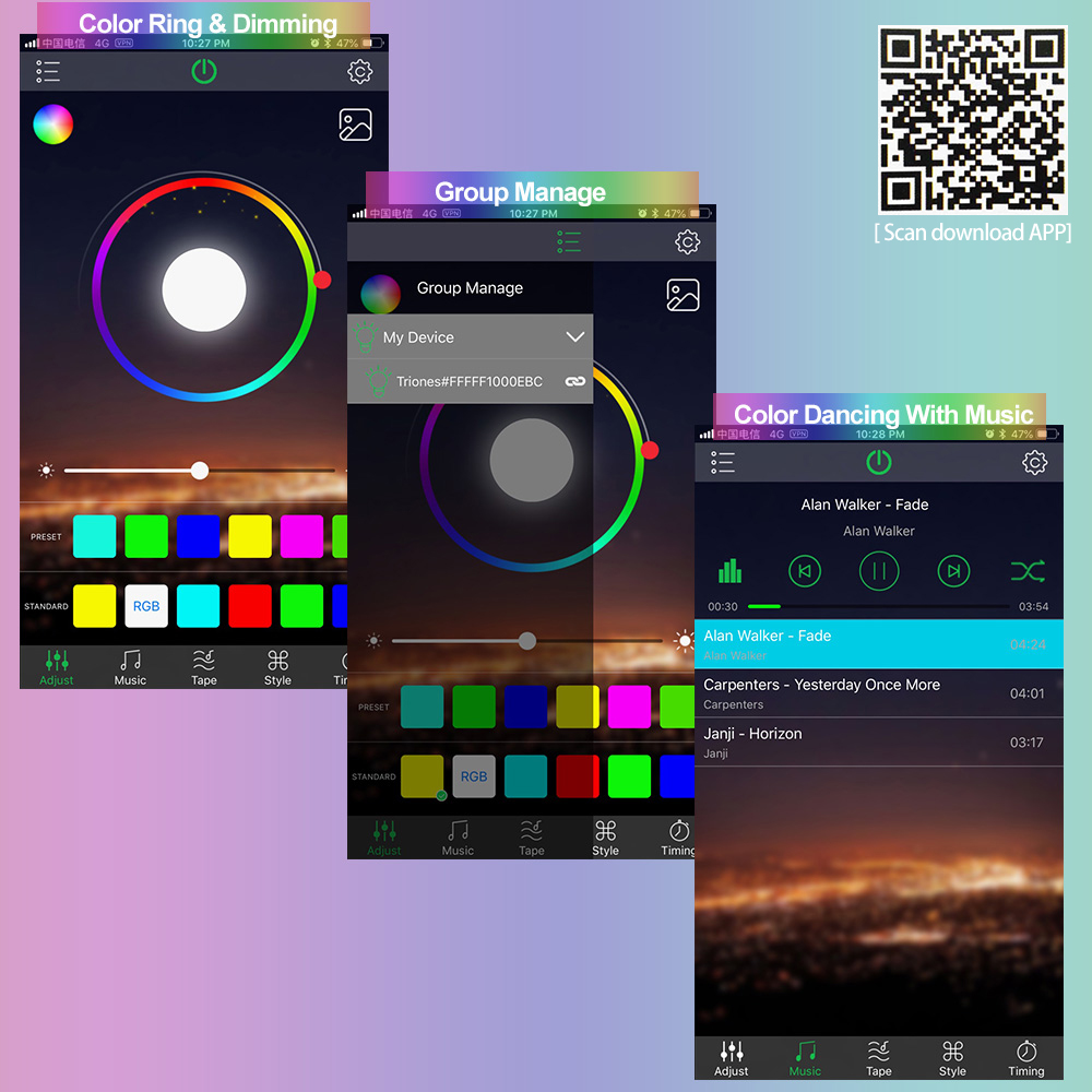 The Best Happy Lighting App Logo Background