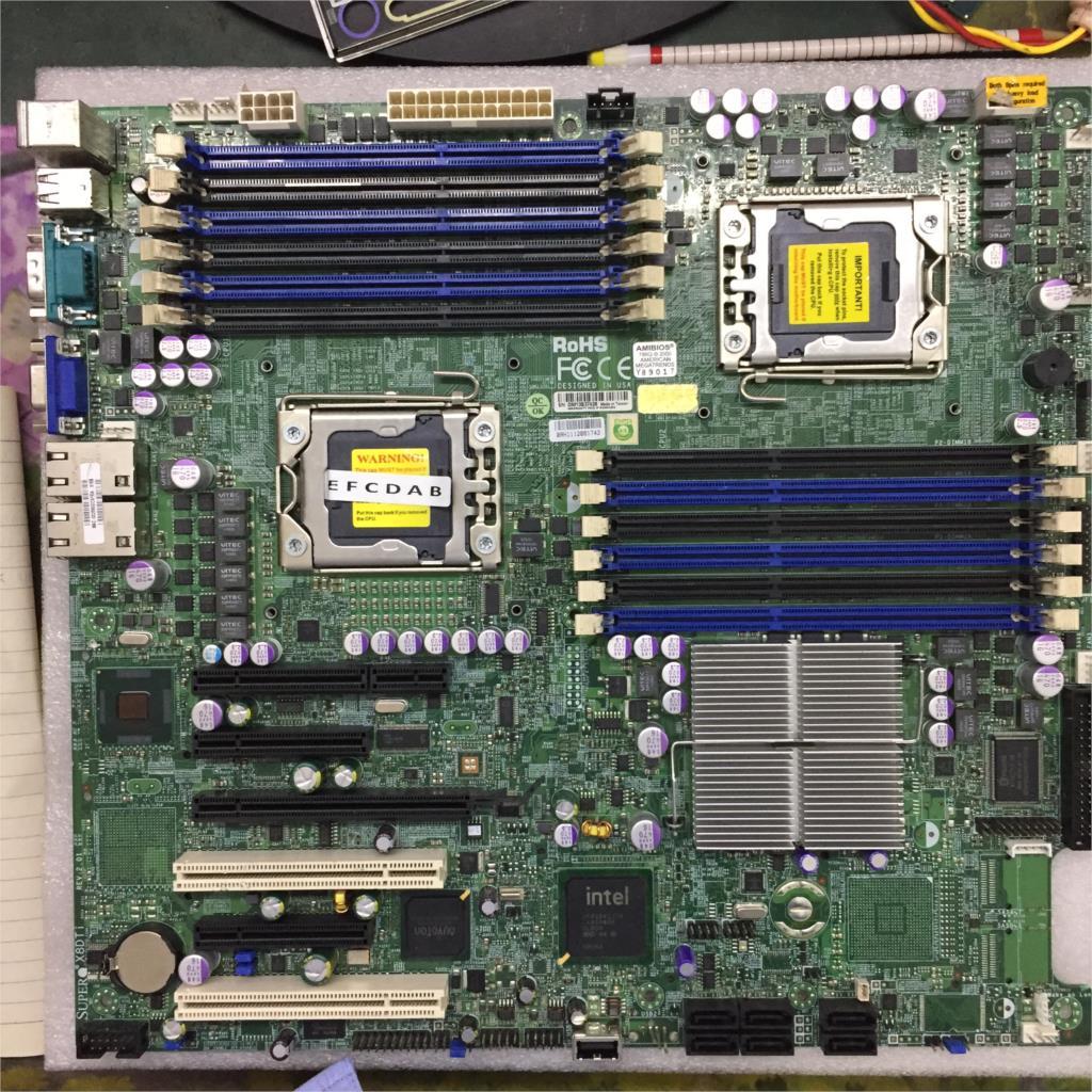 X8DTI-F X58 LGA1366 System Board For Dual LGA1366 X58 Board Well Tested Working