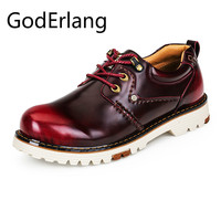 GodErlang Casual Men Shoes Mens Classic Retro Shoes Designer Shoes Men High Quality 2018 Luxury Brand