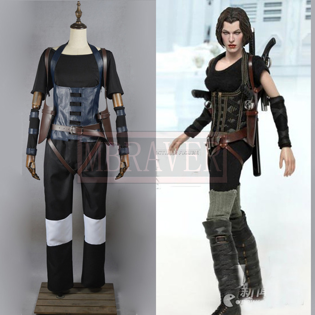 Resident Evil 4 Alice Cosplay costume Full set Customize any size for Halloween  costume