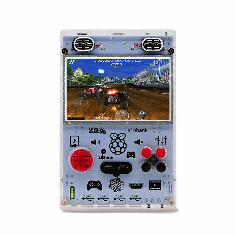 Raspberry pi 3B+ handheldCon HDMI output TV game console 3 5