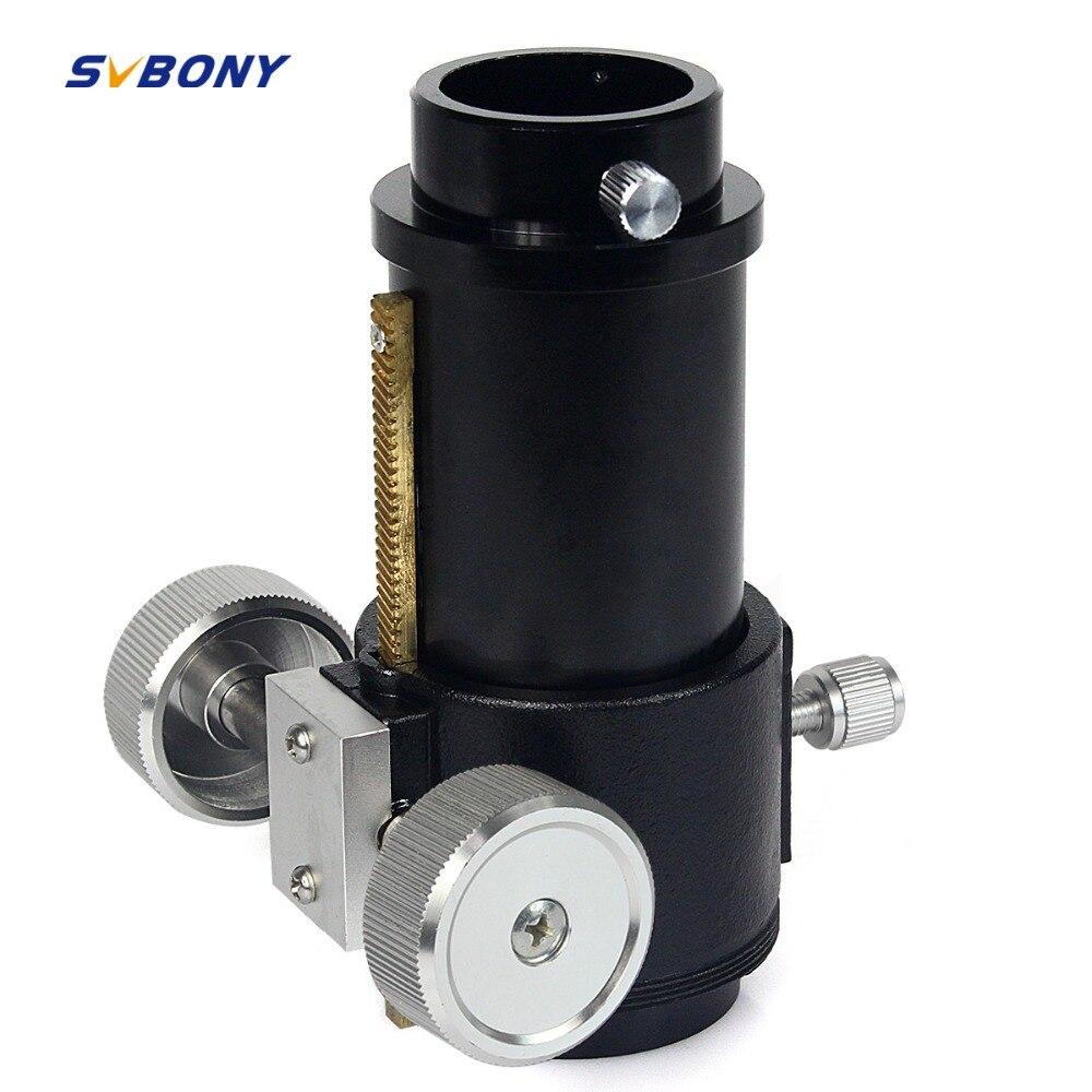 SVBONY Focuser 1.25 R & P Télescope Astronomique pour Réfraction Entièrement En Métal pour Monoculaire Télescope W2700