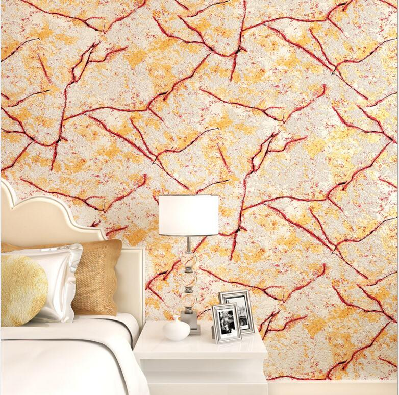 Natural Marble Sandstone Crack Texture Design Wallpaper