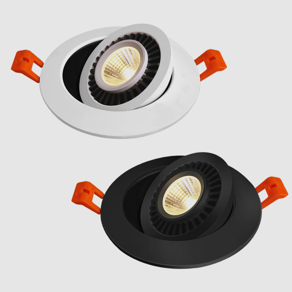 HTB1lo7jbv1G3KVjSZFkq6yK4XXaB Dimmable Led Down light lamp COB Ceiling Light 5w 7w 10w 12w 85-265V recessed ceiling Spot Lights for kitchen bedroom home Decor