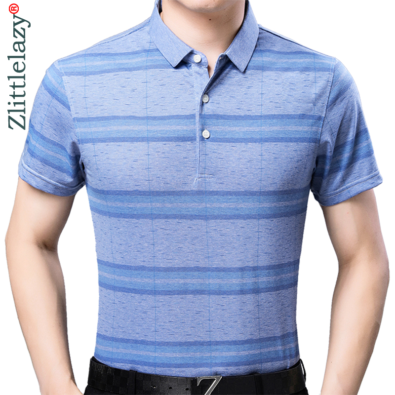 2019 brand casual summer striped short sleeve   polo   shirt men poloshirt jersey quality mens   polos   tee shirts dress fashions 32514