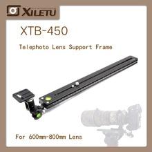 лучшая цена XILETU XTB-450 Long-Focus Birding Bracket Adapter Telephoto lens Tripod Monopods QR Plate For Arca Swiss 600mm-800mm Lens