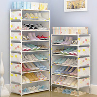Shoe Cabinet Easy Assembled Non Woven Multi Layers Shoe Rack Shelf Storage Organizer Stand Holder Keep
