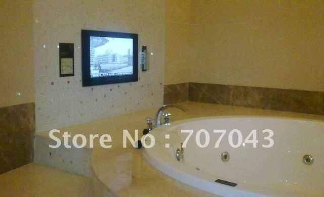 gratis verzending waterdichte tv/badkamer tv/spiegel tv 22 inch in ...