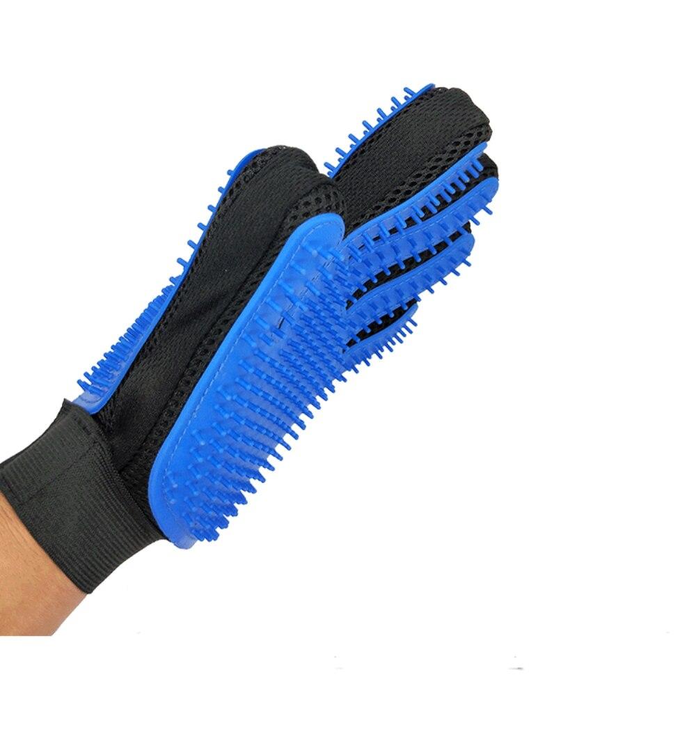 Щетка для собак, перчатка для питомцев, мягкая эффективная перчатка для ухода за домашними животными и кошками, перчатка для ванны собак, товары для чистки кошек, перчатка для домашних животных, расчески для собак