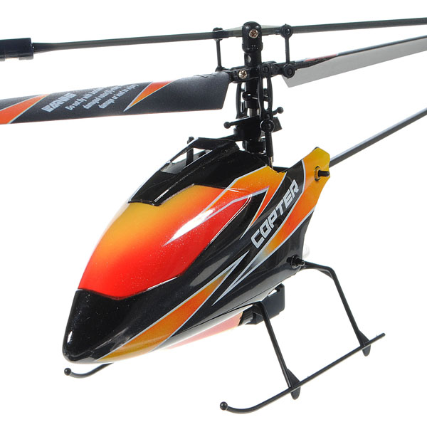 WLtoys Upgraded Version V911 2.4GHz 4CH Single Blade Propeller Radio Remote Control RC Helicopter with Gyro Mode2