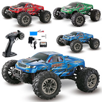 XINLEHONG 9130 RC Car 1:16 2.4G 4WD Brushed High Speed Off road RC Car Toys RTR 36km/h Brushed Dirt Bike Fast Speed vs JJRC Q39