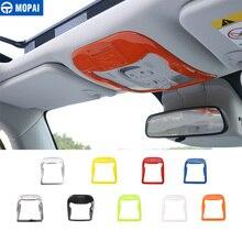 MOPAI ABS Автомобильный Интерьер Чтение осветительная лампа накладка с картой слот наклейки для джип Ренегат 2015-2016 автомобильный стиль