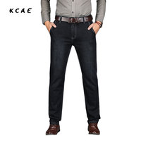 2017 Autumn And Winter Jeans Male Stretch Straight Business Casual Trousers Men S Jeans Large Size