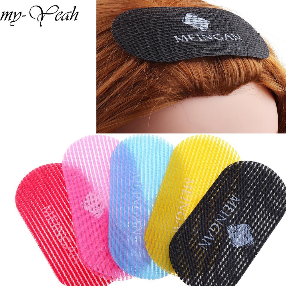 2 Pcs Hair Bang Sticker Woman Man Styling Holder Magic Hair Posted Barber Hair Cutting Pro Salon Set