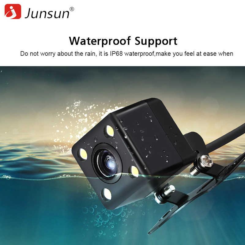 Junsun Автомобильная камера заднего вида для DVD заднего вида парковочная камера 120 градусов камера заднего вида металлический корпус 480P камера заднего вида