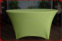 Olive Green Lycra/Spandex Table Cover/Tablecloth/Table Runner/Chair Cover for Wedding/Hotel/Banquet/Party/Home decor&textile
