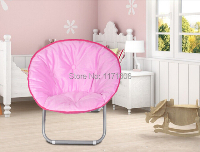 Free Shipping Camping Chair Modern Outdoor Pink Leisure Folding Chair  Fishing Portable Chair Kids Flower Moon