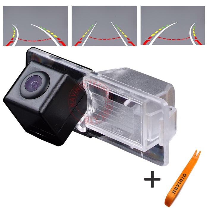 CCD voiture piste caméra d'inversion trajectoire intégrative pour Chevrolet Aveo inverse pour GPS DVBT radio étanche entièrement NTSC forme