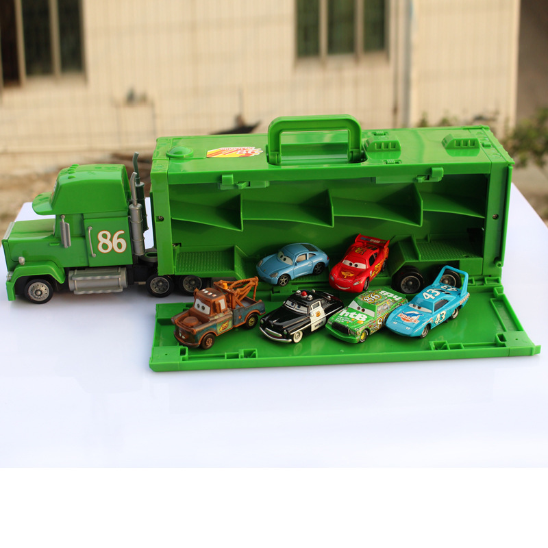 P058 Diecasts Vehicles Alloy Toy Car Tracks Diecast Metal Toys Model Car Toy Cartoon Figures Toys Gifts For Kids for Children