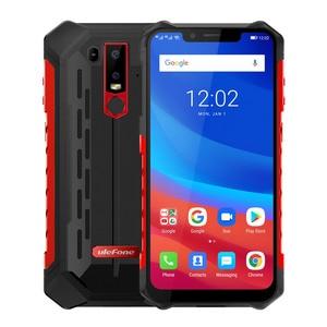 Image 2 - Ulefone Armor 6 Android 6.2 Mobile Phone 6GB 128GB Helio P60 Octa Core Fingerprint Wireless Charge NFC Dual SIM 4G Smartphone