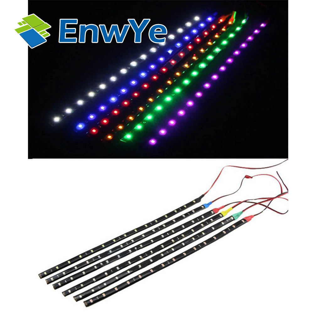 15pcs 15led 30cm waterproof led strip 3528 12v dc smd high power flexible led car strips white. Black Bedroom Furniture Sets. Home Design Ideas