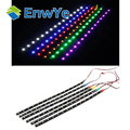 15pcs 15LED/30cm waterproof LED Strip 3528 12V DC SMD High Power Flexible LED Car Strips,white/blue/red/green/yellow