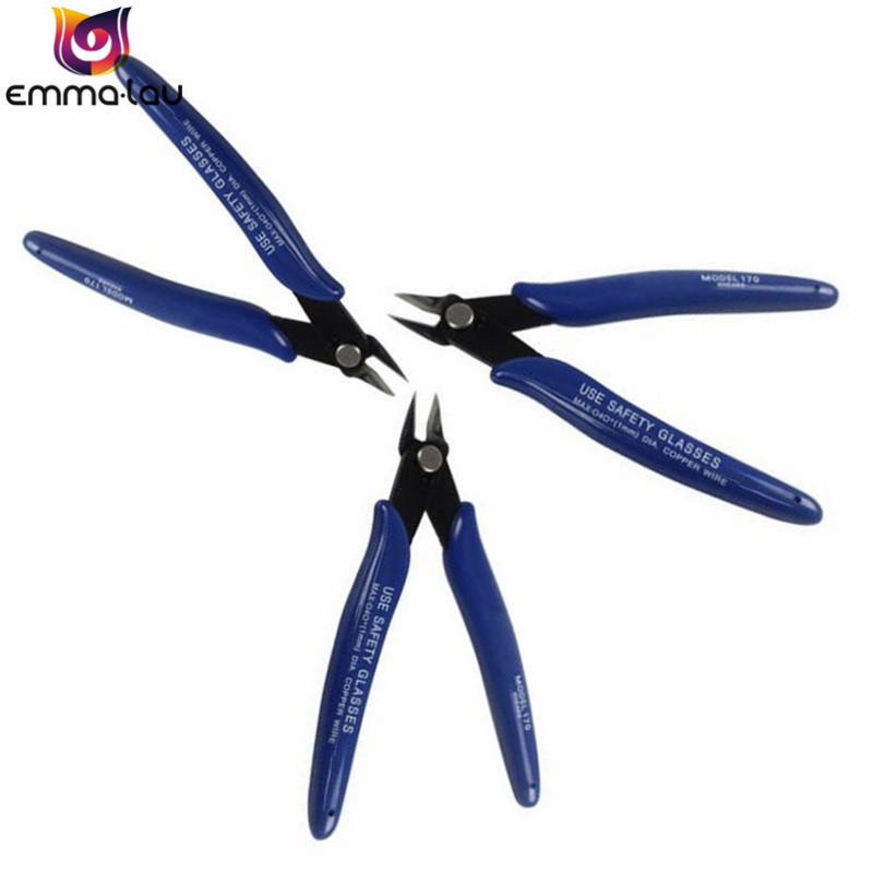Original American Plato. PLATO 170 Wishful Clamp DIY Pliers Electronic Diagonal Pliers Side Cutting Nippers Wire Cutter