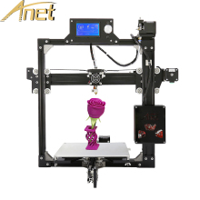 Anet A2 3d printer High precision Reprap Prusa i3 3d printer Kit Metal frame LCD Display Free 1roll filament 8GB SD card as gift