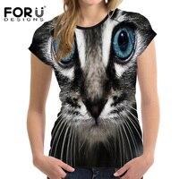 FORUDESIGNS-3D-Galaxy-Cat-Prints-Women-Summer-T-Shirt-Elastic-Woman-Tops-Fashion-T-shirt-For-Girls-Female-Tees-Brand-Clothes-5