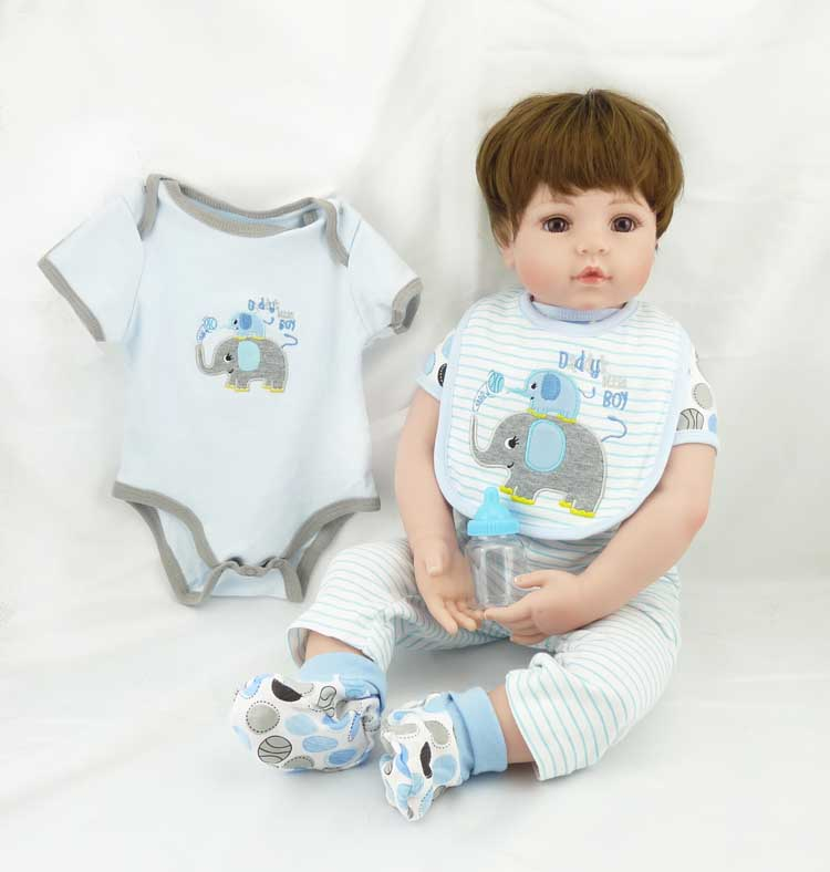 with soft silicone body 55.5 cm Reborn Doll NPK collection bebe reborn Baby Simulation Doll Super cool reborn boy babies toyswith soft silicone body 55.5 cm Reborn Doll NPK collection bebe reborn Baby Simulation Doll Super cool reborn boy babies toys