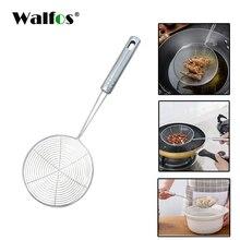 WALFOS Multi-function нержавеющая сталь ложка Фильтр еда кухня инструменты масло жареные барбекю фильтр