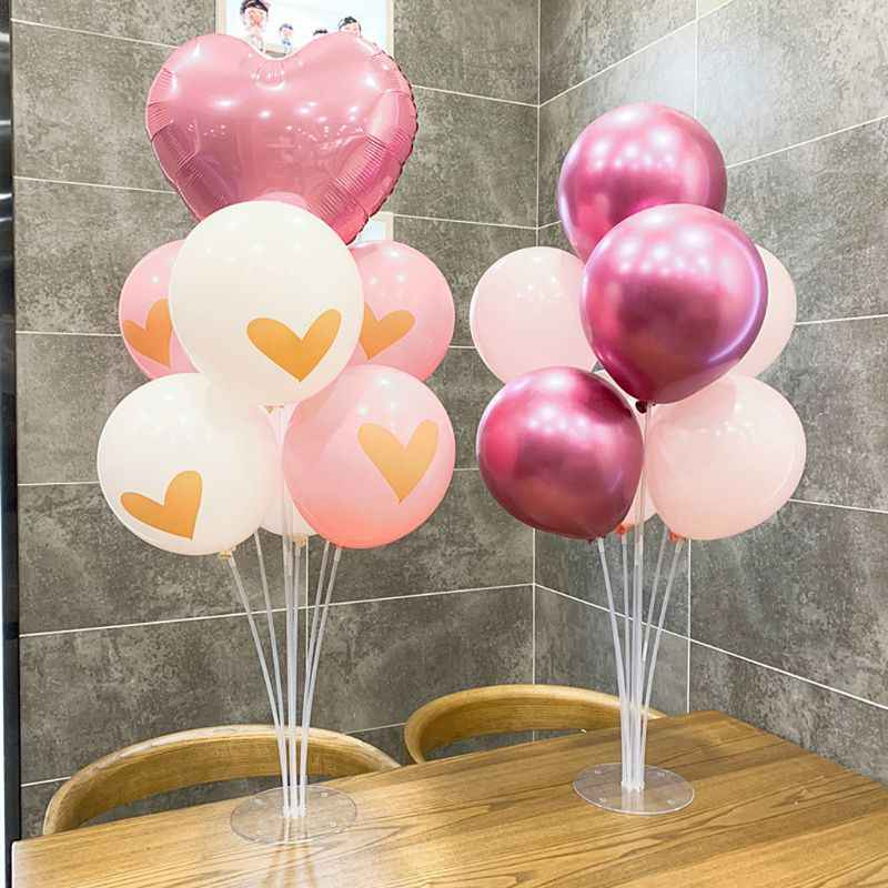 Removable Balloon Stand Column DIY Wedding Decoration Latex Balloon Support Ball Frame Wedding Party Balloon Decoration Bracket