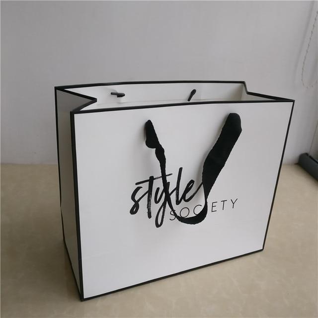 logo ribbon shopping bag Ky4nPhS