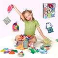 Ferramentas de máquina de Tricô Teares Knitter Agulha Anel Meia Chapéu Cachecol fabricante Tecer Ofício Kit Ferramentas de Costura Tecido DIY Tear para crianças brinquedos
