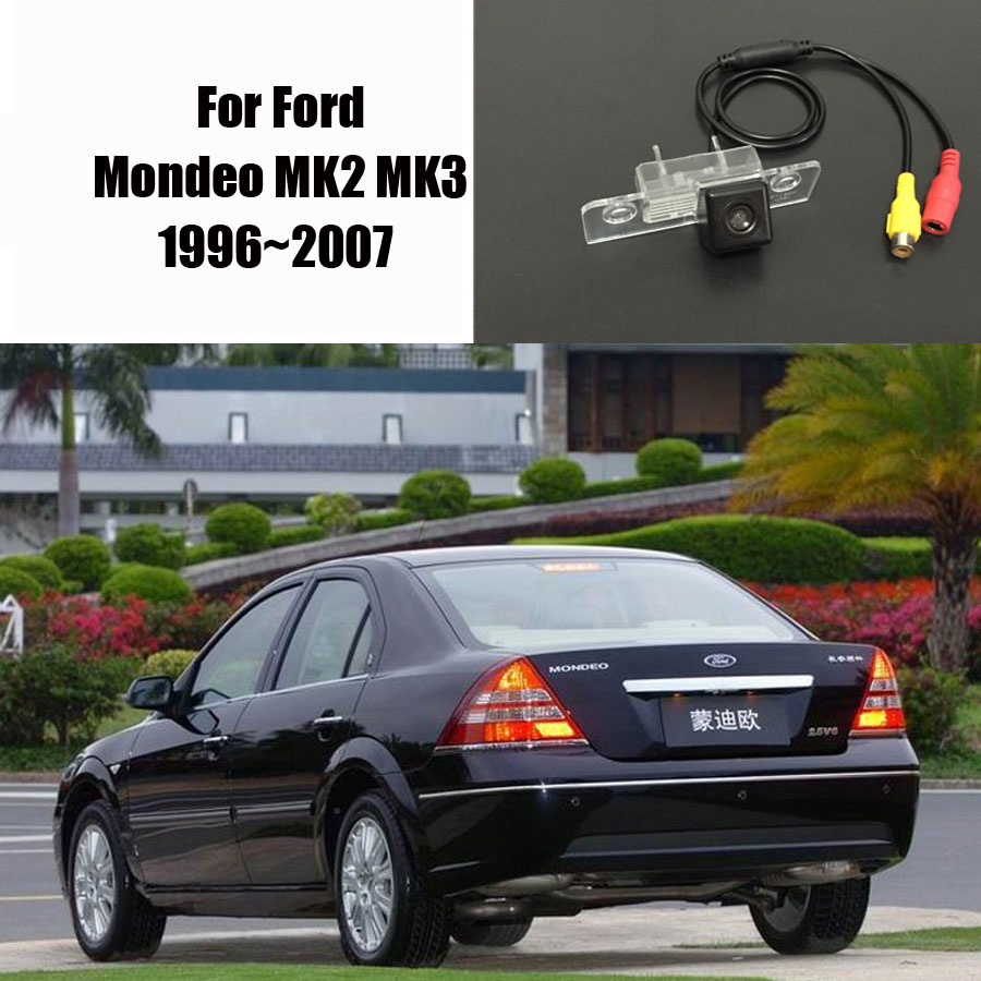 Thehotcakes Car Rear Camera Back Parking For Ford Mondeo Mk2 2014 Mustang Oem Backup Mk3 19962007 Ccd Rca Ntst Pal License Plate Light In Vehicle From