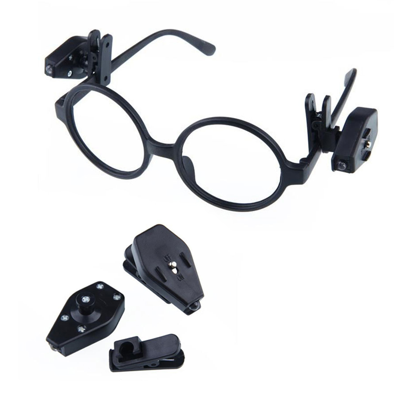 AKDSteel Universal Portable Book Reading Night Lightting For Eyeglass And Tools Mini LED Eyeglass Clip On