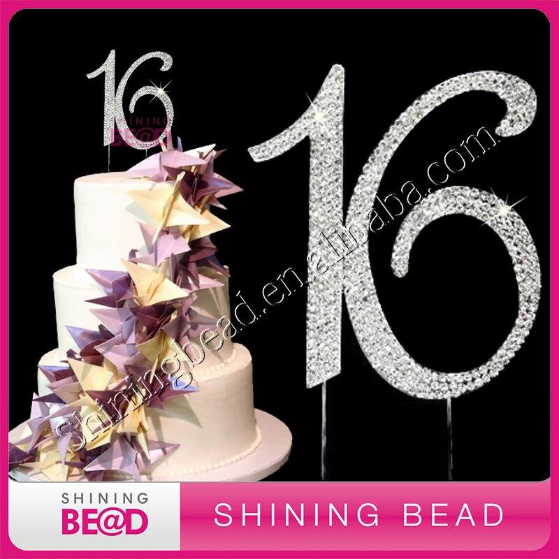 Strass Deko Torte Geburtstag 8 Miss Bakerys House/® Cake Topper Zahl