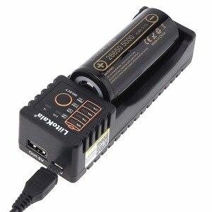 Image 1 - Liitokala 3.7 V 26650 5000 mAh Li ion Rechargeable Batterie + Batterie Ordinateur Portable Cas + Chargeur Unique Smart USB Slot