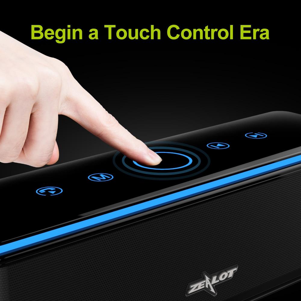 ZEALOT S7 Բարձրախոս սենսորային հսկիչ - Դյուրակիր աուդիո և վիդեո - Լուսանկար 2