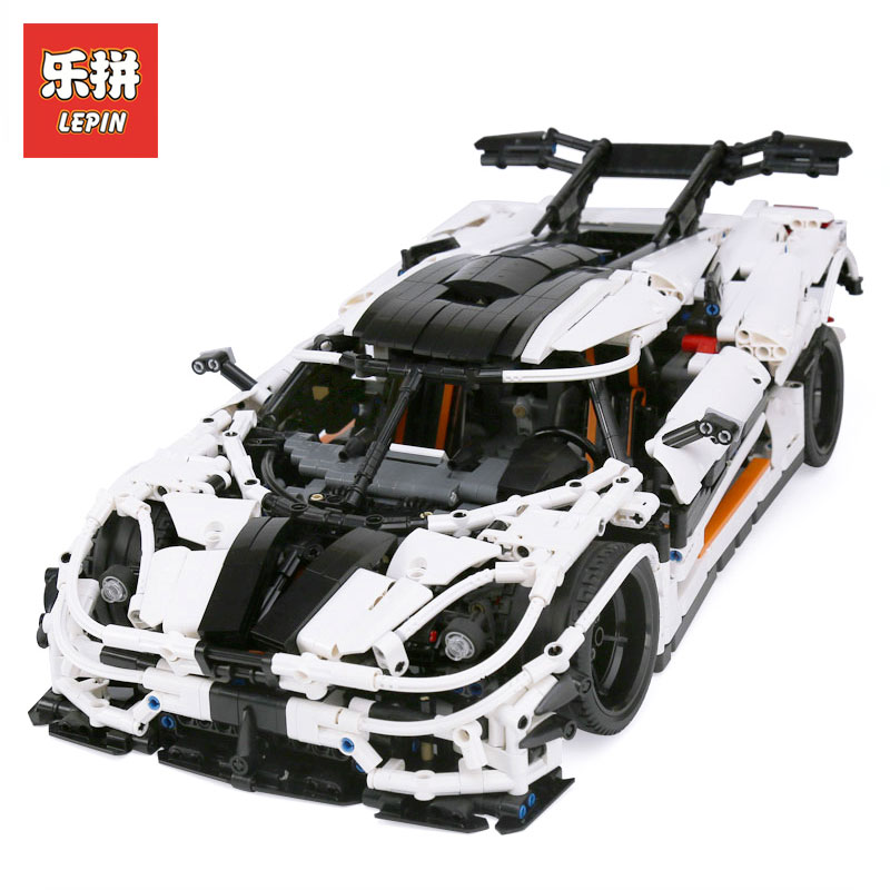 LEPIN 23002 3136Pcs Technic series Traffic jam Model Building blocks Bricks Classic Toys Compatible LegoINGlys MOC-4789 Boy Gift zhiming 851548 iq car traffic jam challenges kids intelligence toys multicolored