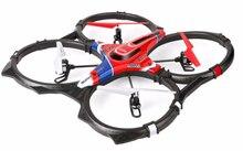 Besar RC Quadcopter UFO Quadrocopter X6 Remote Control Helikopter model pesawat 4CH Drone UFO Piring Bergulir Besar Elektronik Mainan hadiah
