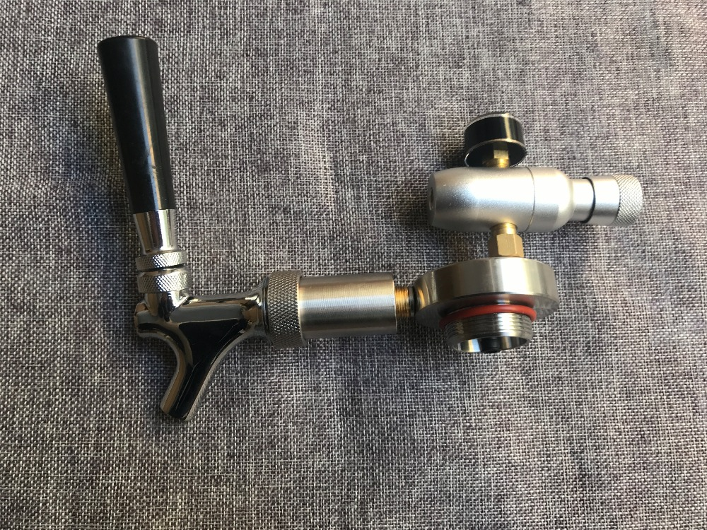 새로운 304 스테인리스 미니 맥주 Growler 스피어스 수도꼭지 CO2 인젝터 프리미엄 2L/3.6L/5L 미니 Keg 맥주 Growler-에서기타 바 액세서리부터 홈 & 가든 의  그룹 1
